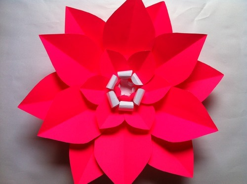 Large paper flowers kagaz ke phool hiranya handicrafts gifts large paper flowers mightylinksfo