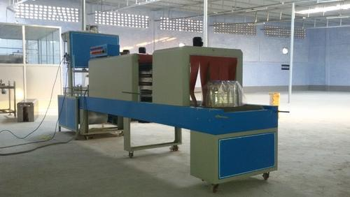 Shrink Labelling and Shirk Wrapping Machine - Shrink