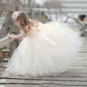 Kids Beige Beauty Lily Dress