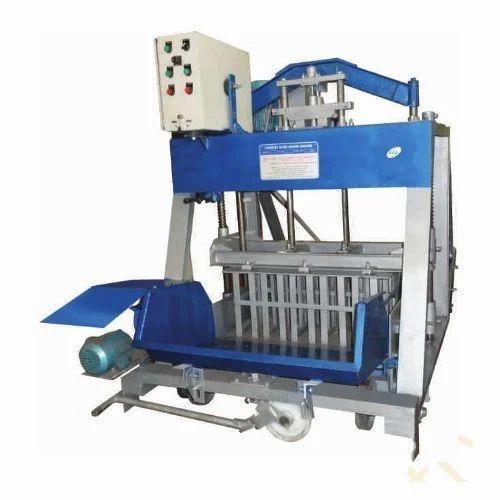 Concrete Block Making Machine At Rs 140000 Piece