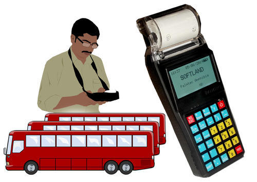 Electronic Ticketing Machine on Bus