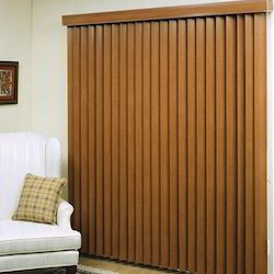 Vertical Wooden Blind