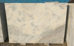 Sand/Abrasive Finish Spotted White Marble, Tile, Thickness: 20-25 mm