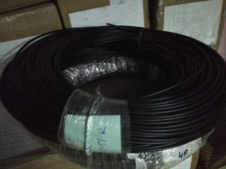 Finolex Copper Electric Cable, for Industrial, Conductor Stranding: Solid
