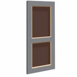 Colored Panel PVC Door