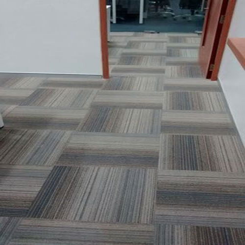 Floor Carpet Tiles Thickness 6 8mm Rs 95 Square Feet
