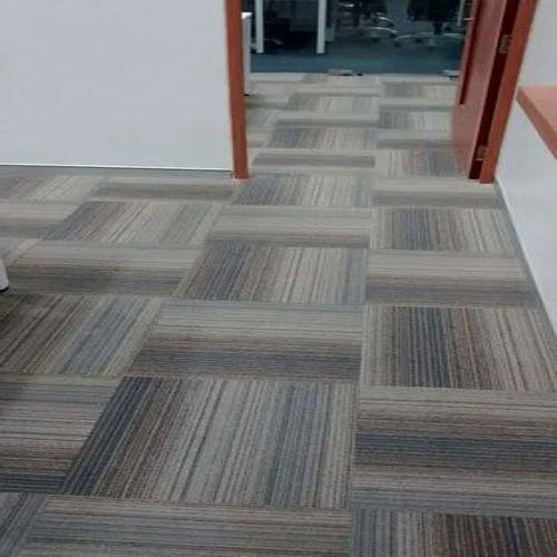 Floor Carpet Tiles, Thickness: 6 - 8mm