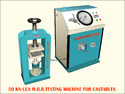 50 Kn CCS MOR Compression Testing Machine For Castable