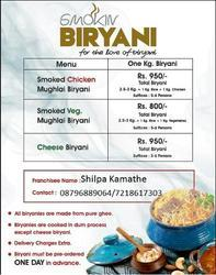 Chicken Mughlai Biryani Smoked