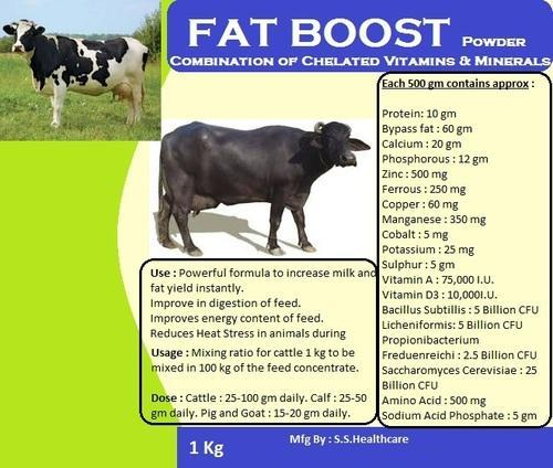 Veterinary Powder Feed Supplement - Veterinary Fat Booster