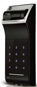 Electric Card Lock And Manual Lock - YALE YDR 4110 Digital