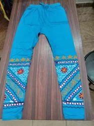 Cotton Lycra Kutch Work Legging