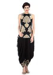 Dhoti Jacket  Ladies Dress