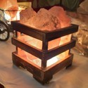 Himalayan Rock Salt Lamp basket
