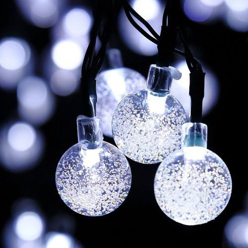 Solar powered outdoor string lights 30led cold ice ball wat at rs solar powered outdoor string lights 30led cold ice ball wat aloadofball Images