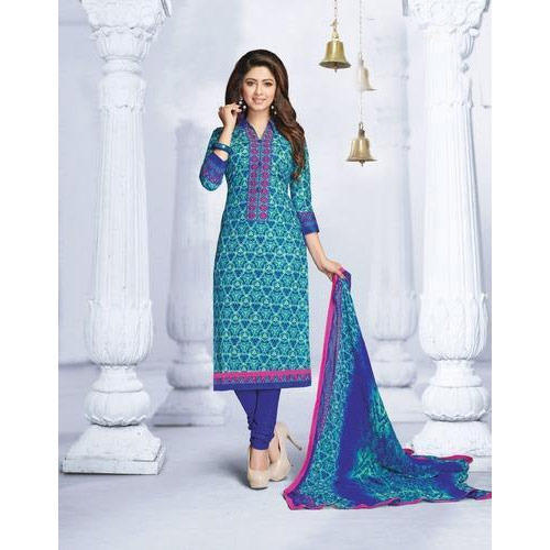 8922d09b3e32 Party Wear Ladies Fancy Cotton Unstitched Suit