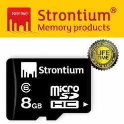 Strontium 8GB Micro SDHC Memory Card