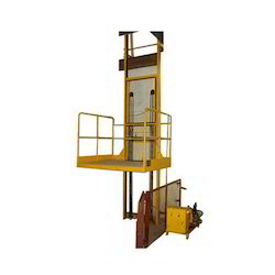 Single Mast Hydraulic Goods Lift