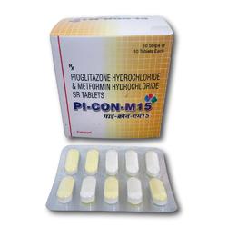 PI-CON-M15(Pioglitazone HCl & Metformin Tablets)