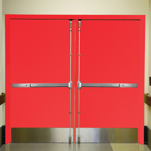 Red Fire Exit Doors Ozone Overseas P Limited Id