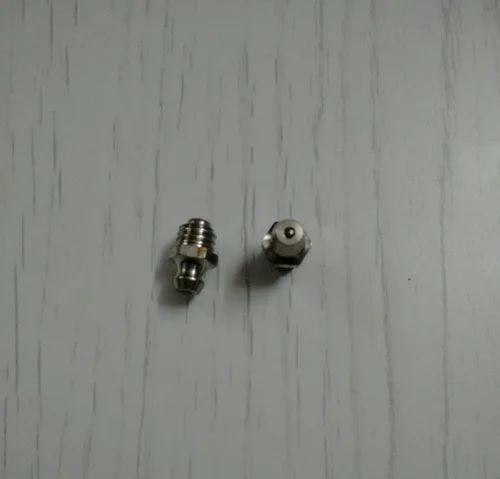 5//16 Mild Steel 45° Ang GREASE NIPPLE BSF PACK OF 10