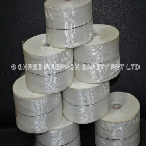Shree Firepack Safety Pvt Ltd White Fiberglass Tape | ID