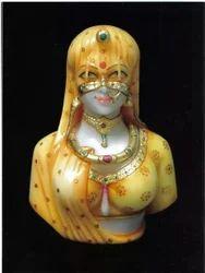 Decorative Bani Thani Marble Statue