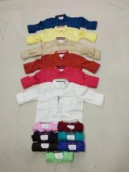 Kids Cotton Plain Shirt