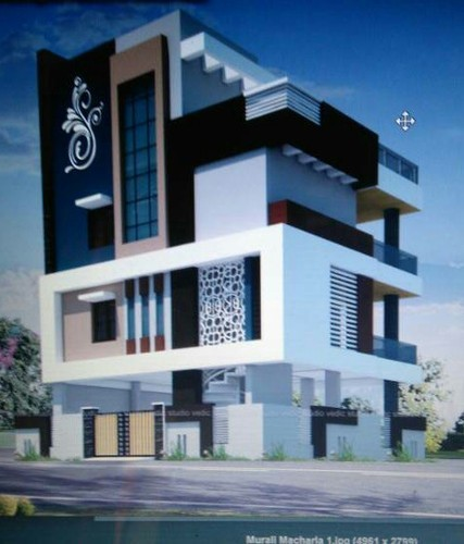 Residential Building Elevation Designs Google Search: Residential And Commercial Building Planning Elevations In