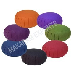 Cotton Round Zafu Cushion