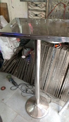 Speech Steel Table