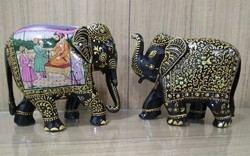 6-7 Inch Wooden Elephant
