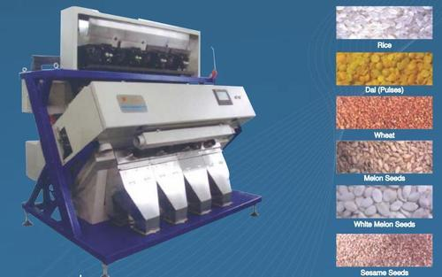 Grain Color Sorter, Capacity: 3tph