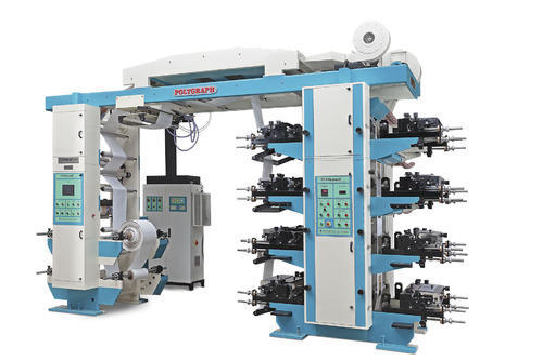 8 color flexo printing press stack type at rs 2200000 no vasai