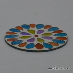 Glass Coaster Beads