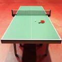 Asian Flooring Green Table Tennis Court Parquet Flooring, Finish Type: Matte
