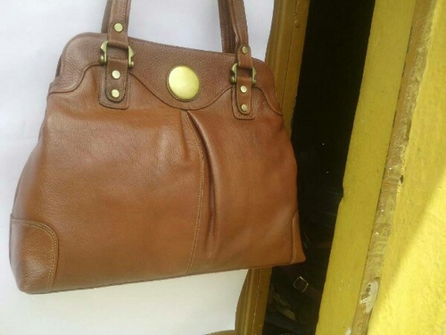 ... Indore  quality design ac867 6b423 Ladies Leather Fabric Bags ... 5a7bc491b8