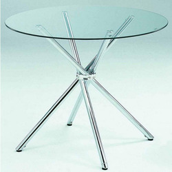 Cafeteria Glass Table