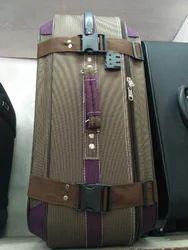 Brown, Mahrun T Tone Big Trolley Luggage Bag