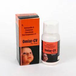 Anhydrous Amoxycillin 200 Mg Potassium Clavulanic 28.5 Mg, Packaging Size: 5 Ml