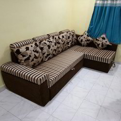 L Shape Sofa Combed Storage