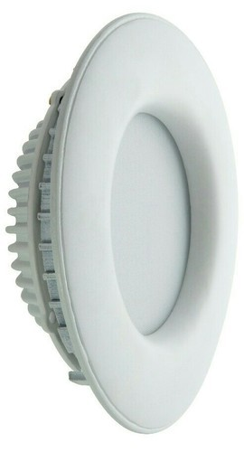 Pure and Warm White Ceramic LED Round Panel Light