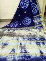 Aakriti White Bhagalpuri Semi Tussar Ghicha Saree, Packaging Type: Box
