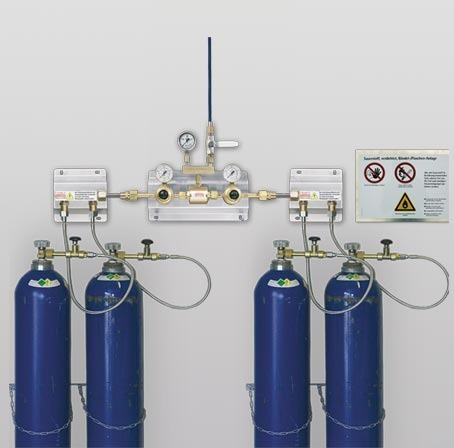 Gas Cylinder Manifold System View Specifications