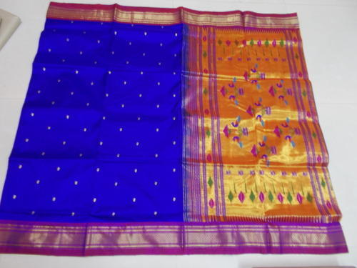 Pure Paithani Single Pallu