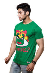 Mens Round Neck T-Shirt (Why So Serious)