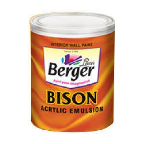 Berger Paints Interior: More Than 150 Shades Bison Acrylic Emulsion, Pack Size
