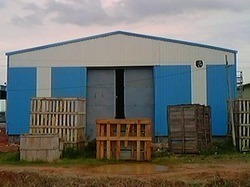 Industrial Storage Shed