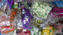 Multicolor Pooja Craft & Embroidery Decorative Artificial Flowers, Pack Size: 1