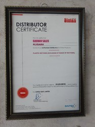 Standard Auth Distributer Sintex